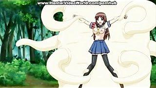 Cute teen girls in anime hentai videos