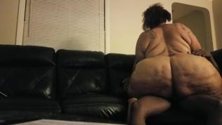 Mature big butt fat ass Sbbw riding bbc